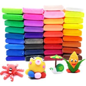детский цветной пластилин фото