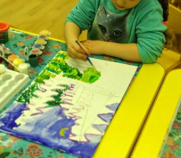 Авторская программа Изобразительное искусство Часть 1 - форма и композиция для детей 4-7 лет