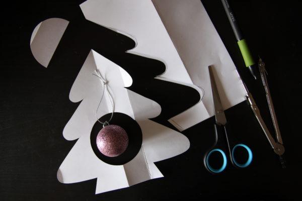 Мастер-класс Новогодний шар на ёлку: аппликация, декор на Новый год