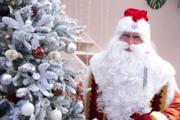 Он-лаин поздравление от Дедушки Мороза