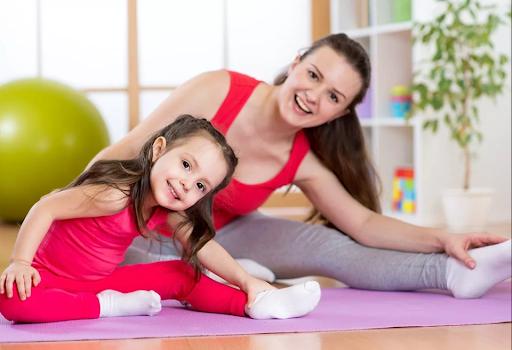 МАМА+МАЛЫШ фитнес-тренировки с элементами йоги